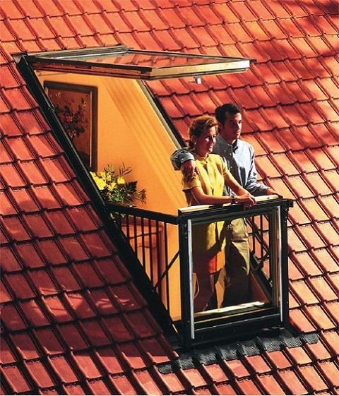 Мансардное окно-балкон velux gdl cabrio pk19 (94x252cm), цен.